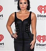 Demi Lovato Arrives at 2015 iHeartRadio Music Festival Night 1 - September 18